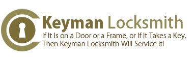 Logo, Keyman Locksmith - Mobile Locksmith
